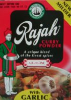 Rajah Curry Powder with Garlic